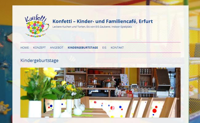Konfetti – Kinder- und Familiencafé, Erfurt