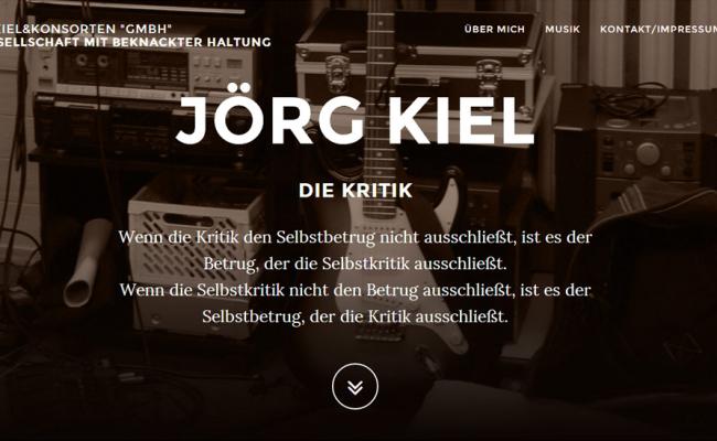 """Webseite """"Kiel und Konsorten"""""""