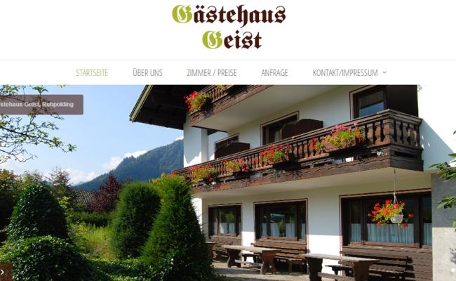Gästehaus Geist